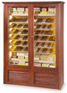 Cigars cabinet for +/- 2500 cigars climatised with electronical system - humidity and temperature